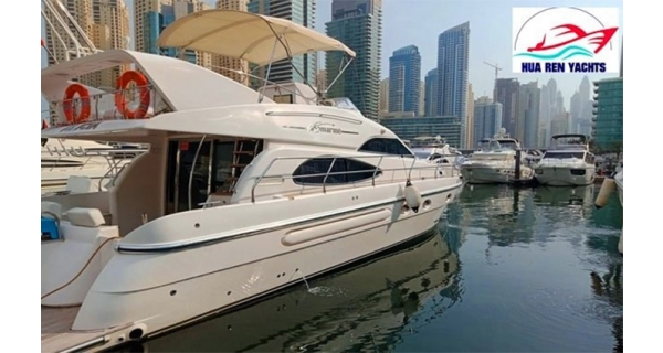 1, 2 or 3 Hours Dubai Marina Cruise on a 50-70 ft. Private Yacht from Hua Ren Yachts & Boats.