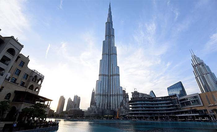 Open dated At The Top Burj Khalifa 124th & 125th Floor Ticket.