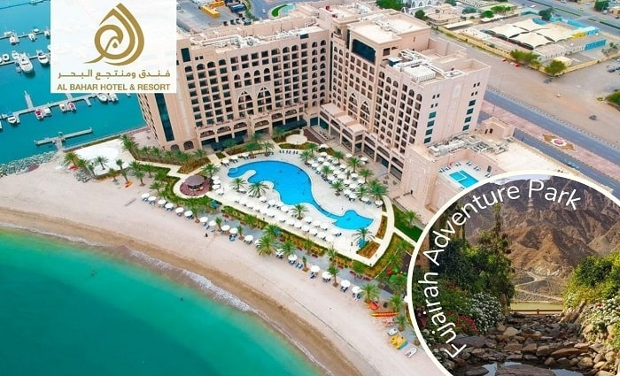 5* Al Bahar Hotel and Resort One-Night Stay + Park Access.