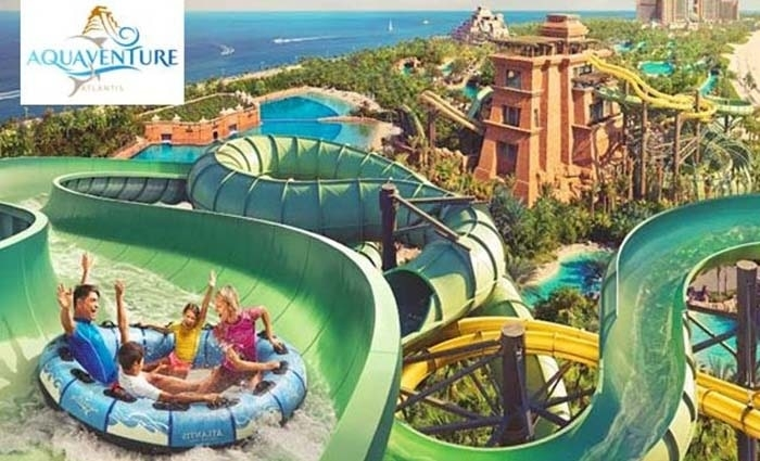 Atlantis Aquaventure Water Park Tickets from AED 99