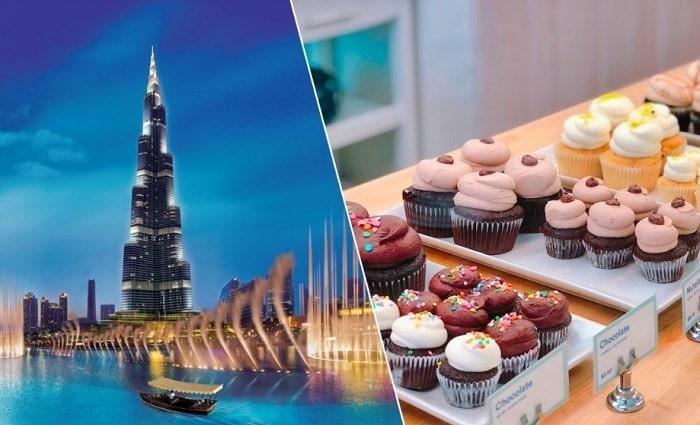 Burj Khalifa Ticket with The Cafe Treat.