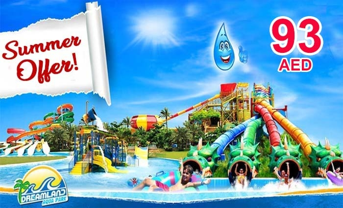 Dreamland Aqua Park Ticket for Adult Only