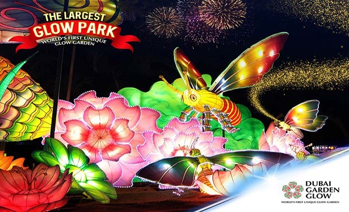Dubai Glow Garden Tickets Aed 55 Only Great Deals