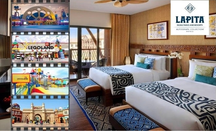 4* Lapita Dubai Parks and Resort Hotel Stay with Access to All Parks.