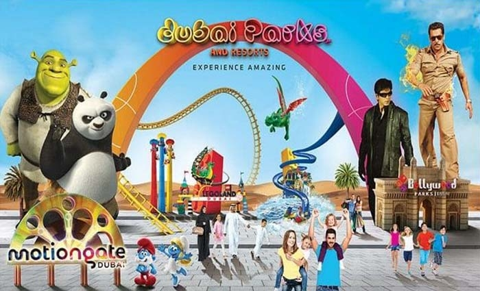 Experience the Amazing Motiongate at Dubai Parks.