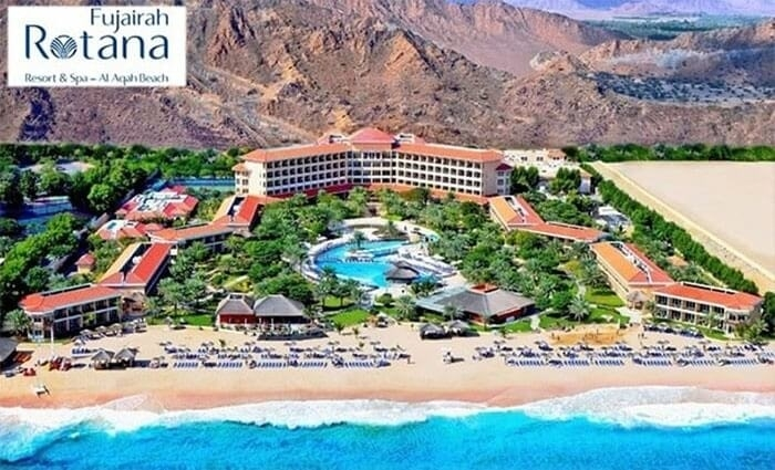 5* Fujairah Rotana Resort and Spa One-Night Family Stay with Breakfast, from AED 399.
