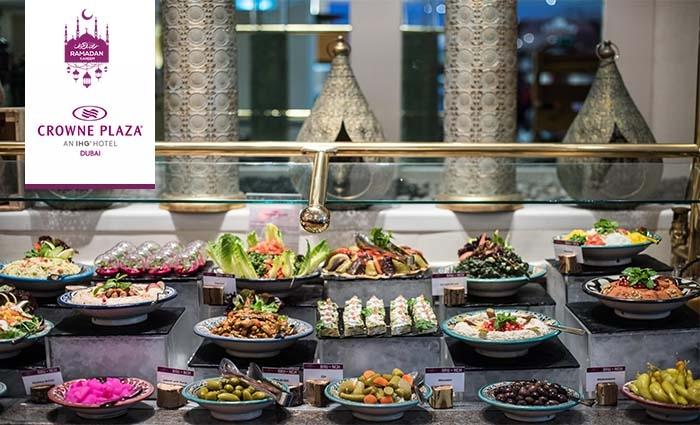 5* Iftar Buffet at Crowne Plaza® Dubai SZR