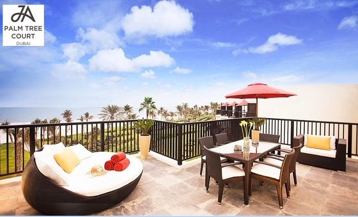 5* JA Palm Tree Court Suite Family Stay with Breakfast, Half-Board or All-Inclusive