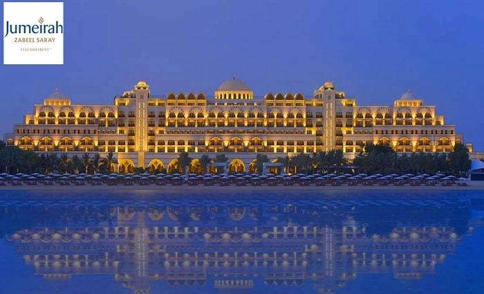 5* Jumeirah Zabeel Saray 1-Night Half-board Family Stay for 2 Adults + 2 Children from AED 899.