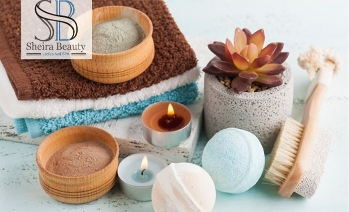 A Refreshing Moroccan Bath for Ladies with optional Body Scrub and Face Mud treatment from Sheira Beauty & Ladies Nail Spa.