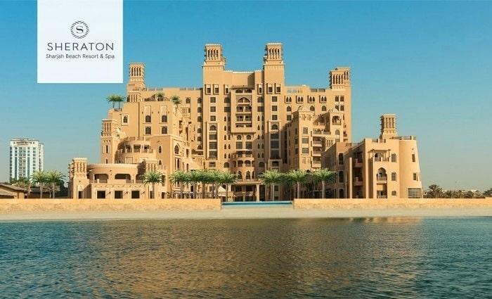 5* Sheraton Sharjah Beach Resort & Spa One-Night Stay with Breakfast.