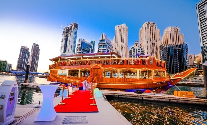 5 Stars Marina Dhow Cruise with Buffet Dinner