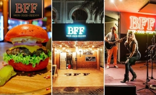 AED 100 worth of voucher to enjoy and spend at BFF Gastro Bar & Lounge for AED 49 only!