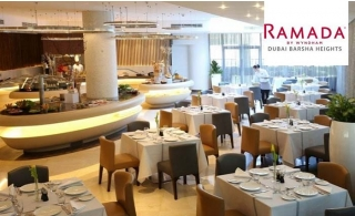 Lunch or Dinner Buffet at 4* Ramada by Wyndham Barsha Heights