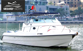 33ft Meshref Yachts Cruising and Fishing Trips