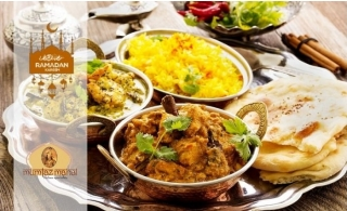 Iftar Buffet + Ramadan Drinks at Mumtaz Mahal, Arabian Courtyard Hotel & Spa.