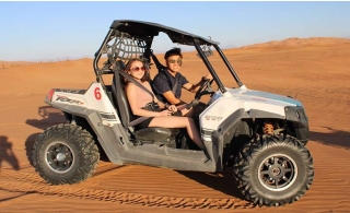 Quad Biking or Double 4x4 experience at Al Maidan Motorcycles Rental