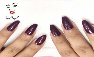Manicure & Pedicure at Smart Fingers Salon from only AED 49