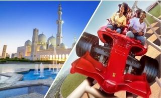 Abu Dhabi City Tour with Transportation and Optional Ferrari World Ticket.
