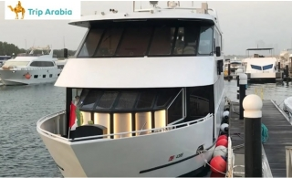 2-Hour Luxury Yacht Dinner Cruise Abu Dhabi from AED 120 by Trip Arabia Travel & Tourism.