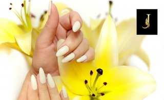 Acrylic Nail Extension Package at Joseph Dimerji Beauty Salon.