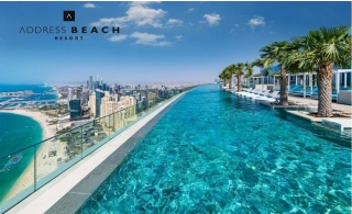 5* Address Beach Resort Jumeirah Family Stay with Breakfast