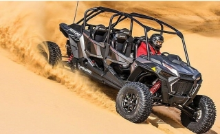 30 or 60-Minute Quad Bike ATV or Buggy Rental at Al Badayer Off Road Motorcycle Rental.