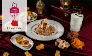 Lebanese Iftar at Grand Café Al Manara