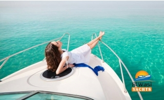 Private Yacht Trip Along The World Islands, Burj Al Arab, The Palm Jumeirah and Burj Khalifa by Al Wasl Yachts for up to 28 people from AED 640.