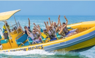 """""""Atlantis Blast"""" Tour from The Yellow Boats."""