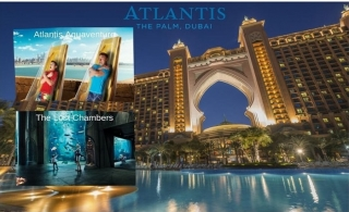 5* Atlantis The Palm One-Night stay with Half Board and Enjoy unlimited access to Aquaventure and Lost Chambers, from AED 1449.