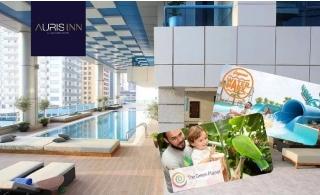 4* Auris Inn Al Muhanna Hotel Stay + Laguna Waterpark or Green Planet Tickets.