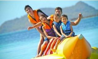 Banana Boat Ride  for 5 people from Almarjan Marine Amusements