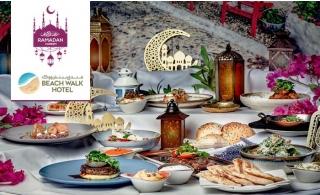 Iftar Buffet at Beach Walk Hotel, Jumeirah