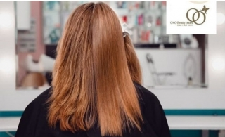 Full Hair or Root Color, Hair Brazilian Keratin or Hair Botox from O & O beauty Center in JLT.