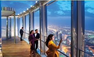 Burj Khalifa At the Top Sky 148th + 124th +125th Floor ticket.