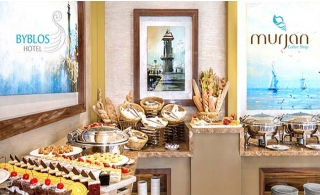 Breakfast or Lunch Buffet + Pool @ Byblos Hotel in Barsha Heights