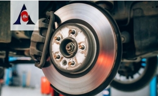 2 or 4 Brake pad replacement with free disc machining from Meeraj Auto Center from AED 99