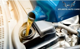 Sedan or SUV Oil change with 40 Point Preventive Inspection from Atlantis Auto Care, starting at AED 89.