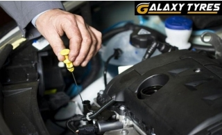 Engine Oil Change with Computerized Health Check and more from only AED 74 at Galaxy Tyres – Abu Dhabi.