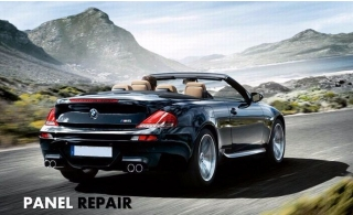 Panel Repair for AED 179 from Al Meeraj Auto Repaire.