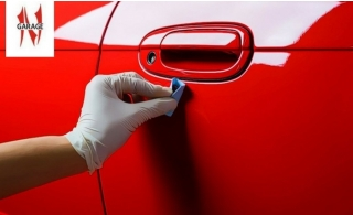 Car Paint Restoration per panel with external car wash from Naoufer Garage, starting at AED 199.
