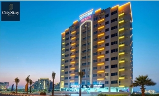One-Night Deluxe Sea View Room Stay at City Stay Beach Hotel Ras Al Khaimah. Inclusive of meal choices!