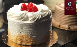 Cakes for any occasions from Crystal Plaza Hotel – Sharjah, for AED 69 per kilo