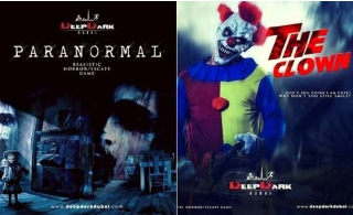 Biggest and scariest realistic horror, escape game at Deep Dark Dubai, for AED 125