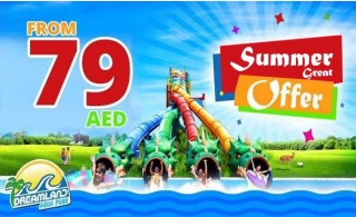 Summer Great offers @ Dreamland Aqua Park starting from AED 79