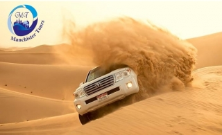 Desert Safari Adventure with Dinner Buffet, Entertainment, and more activities by Manchister Tours!