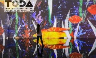 Digital Art Show Ticket at ToDA