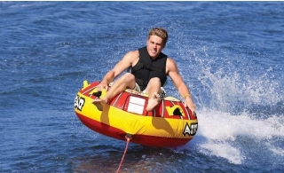Donut Boat Ride for 4 people from Almarjan Marine Amusements