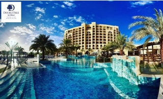 5* DoubleTree by Hilton Marjan Island Family Stay with Breakfast from AED 309.